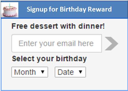 Rewards Program powered by Riiwards.com